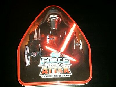 Topps Star Wars Force Attax Cards (cartas) Limited Edition Tin (lata)