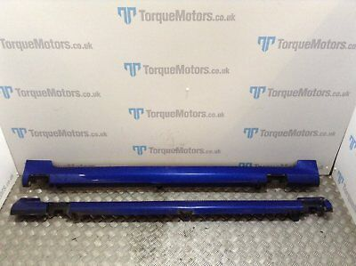 Ford Fiesta ST Blue Side Skirts Pair
