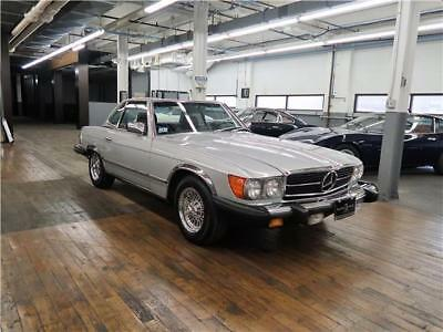 1985 Mercedes-Benz SL-Class Convertible One owner, with 48,000 miles from new and has the rare chrome package!