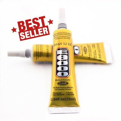 25-110ml E8000 Clear Glue Adhesive Sealant Waterproof For Clothes Shoes Phone