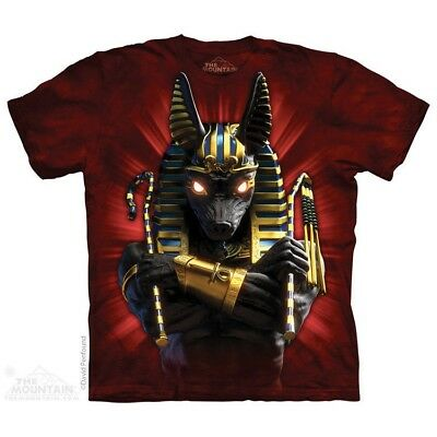 Anubis Soldier T-Shirt by The Mountain. Spiritual Cultural Sizes S-5XL NEW