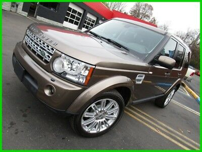 2013 Land Rover LR4 HSE LUX - Dual Sunroofs, Third Row Seats, 7-Passenger, 4X4 2013 Land Rover LR4 HSE LUX - Nara Bronze w/ Chocolate Leather - LOADED