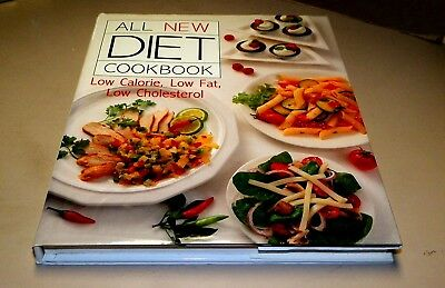 Cook Book All New Diet Cook Book, Hard Cover w/Dust Jacket, Recipes