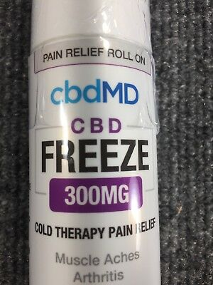 CBDmd  FREEZE PAIN RELIEF 3OZ ROLLER 300MG CBD Topical roll on