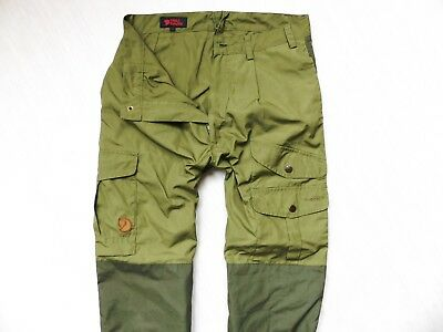 WOMEN'S FJALLRAVEN G-1000 TROUSERS CARGO PANTS CAMPING HIKING s. 40 (LARGE)