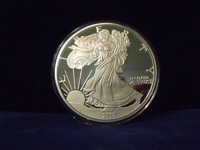 2017 Proof Silver Eagle ONE TROY POUND .999 fine silver 12 TROY OUNCES IN STOCK