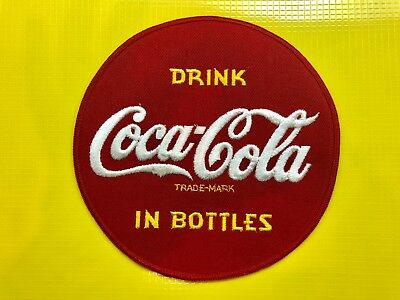 New Genuine Coca-Cola Driver Shirt Back Patch 7 Inch
