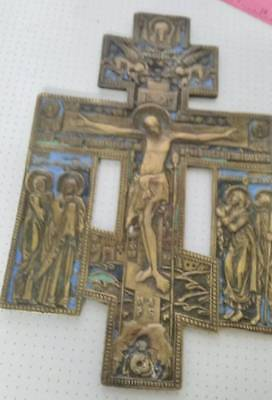 it is a lot of ancient orthodox Russian  cross 165х110мм