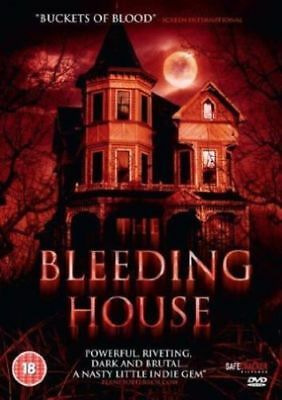 The Bleeding House - NEW SEALED horror DVD - Free Postage / FULLY GUARANTEED