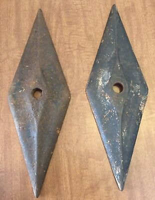 ANTIQUE Original CAST IRON ARCHITECTURAL MASONRY WALL TIE BUILDING ANCHOR