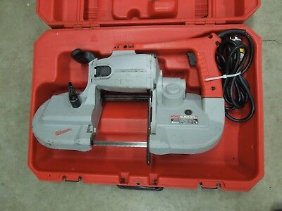 Milwaukee 6232-6 Deep Cut Band Saw W/ Case