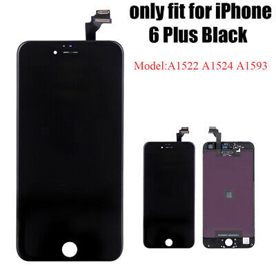 """For iPhone 6 Plus LCD Display 5.5"""" Touch Screen Digitizer Replacement -Black"""