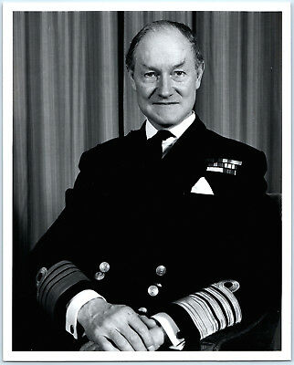 Original Admiral of the Fleet Sir Henry Conyers Leach Official Royal Navy Photo