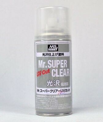 New Mr. Hobby Mr. Super Clear MSC UV CUT GLOSS B-522  Spray