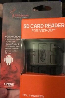 Wildgame Innovations SD Card Reader for Android. Gain Instant Access To Trailcam