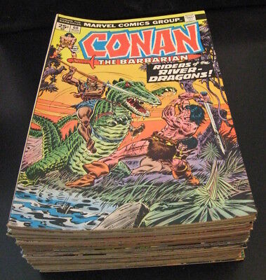 Wow! BIG Lot of *37* Nicer CONAN Comics! ≈ #60-109! (VF-) **Bright & Colorful!**