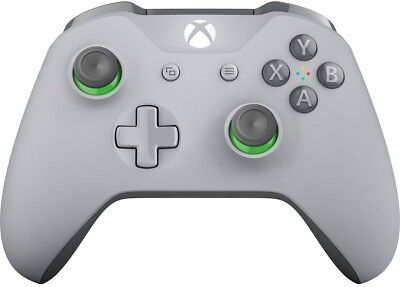 Microsoft Xbox One Wireless Controller - Grey/Green