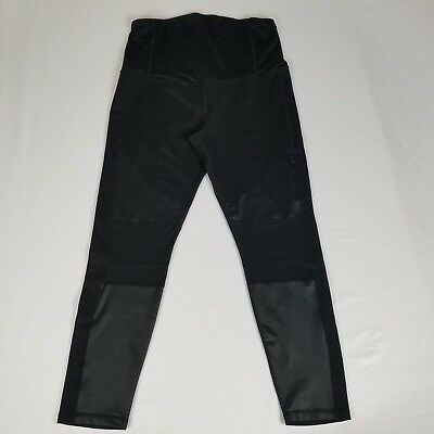 Ingrid & Isabel Maternity Womens Pants Size XXL Black Activewear Full Panel