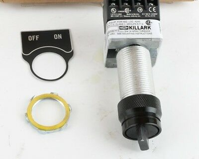 G05-2A3F Hubbell Killark 2 Position Selector Switch