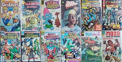 Huge Lot Of 50 Silver/ Bronze/ Copper Age Comics (Blow Out Sale) Independents