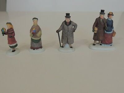 """Depart. 56 Heritage Village Collection """"Chelsea Lane Shoppers"""" in box 5816-5"""