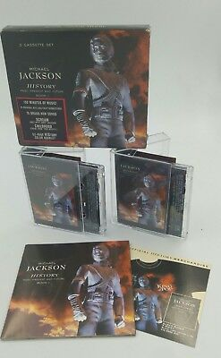 Michael Jackson History Audio Cassettte  New