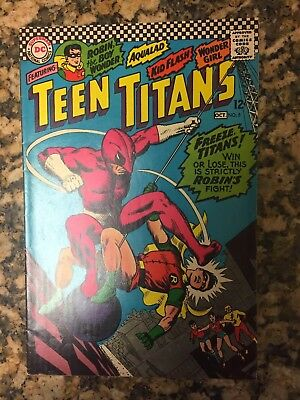 Teen Titans #5 (Sep-Oct 1966, DC) Fine Condition! Look! Tv show!!