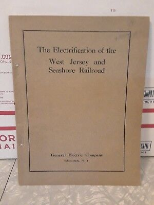 Electrification of the West Jersey and Seashore Railroad Company 1912