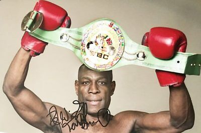 Frank Bruno Autograph - Signed Boxing World Champion Photograph + *Certificate*