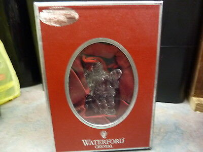 """Waterford Crystal's """"St. Nicholas"""" Ornament 1st Edition 2006"""