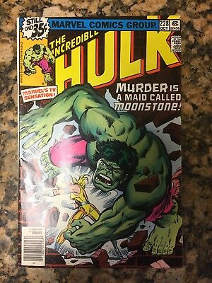 The Incredible Hulk #228 First Moonstone!! Take A Look! Great Book! Movie!