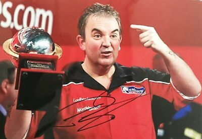 Phil Taylor Autograph - Signed Darts World Champion Photograph + *Certificate*