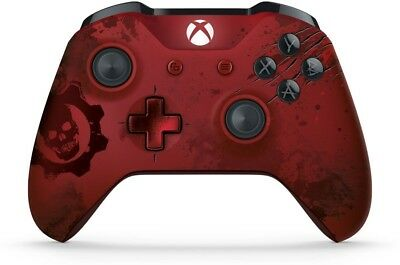 Microsoft Xbox One S Wireless Controller - Gears of War 4 Crimson Omen Limited E