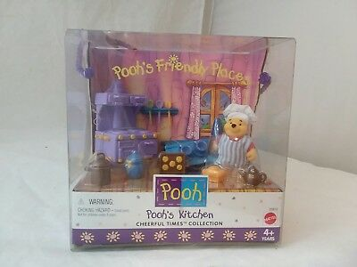 Pooh's Kitchen, Winnie the Pooh toy set, cheerful times collection, by Mattel,4+