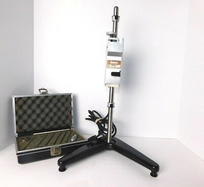 Brookfield Helipath Model D w/ Stand & Complete Helipath Spindle Set - Tested