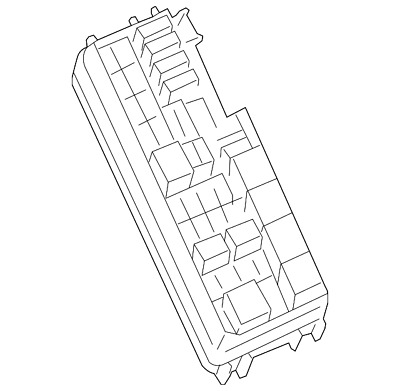 Genuine Mercedes Benz Fuse Relay Box 203 540 00 50