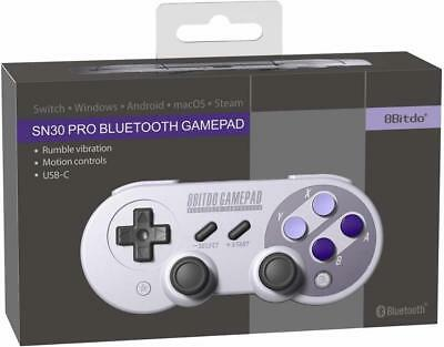 8Bitdo SN30 Pro Controller Windows, macOS, & Android - Nintendo Switch
