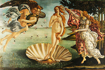 Sandro Botticelli - The Birth of Venice (1480s) (#002)