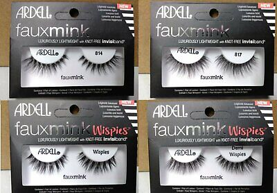 f071d3033a8 Ardell Faux Mink Luxurious Eyelashes With Invisiband **READ DESCRIPTION  Pick Qty