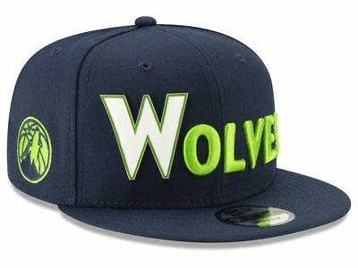 huge discount 8d715 c3744 Minnesota Timberwolves New Era 9FIFTY Snapback Hat NBA