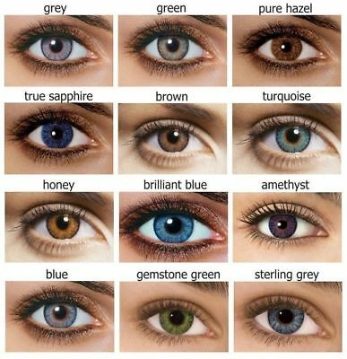 Natural Eye Color Lenses Cosmetic Makeup Lens Cosplay Colored Contacts🔥