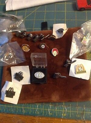 Vintage Mcdonalds Pins 31/in lot some new