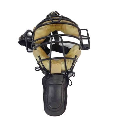 Diamond Adult Umpire Face Mask with throat guard