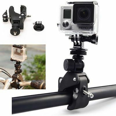 Bicycle Motorcycle Handlebar Clips Bar Seatpost Mount For GoPro Hero 2 3 3+ 4 WT