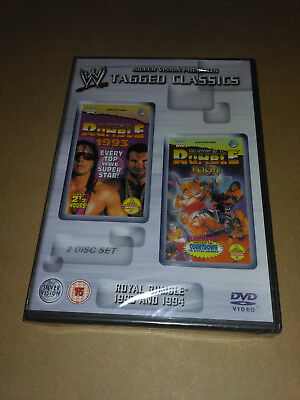 WWF WWE Tagged Classics - ROYAL RUMBLE 1993 & 1994 DVD 2-Disc Set **sealed**