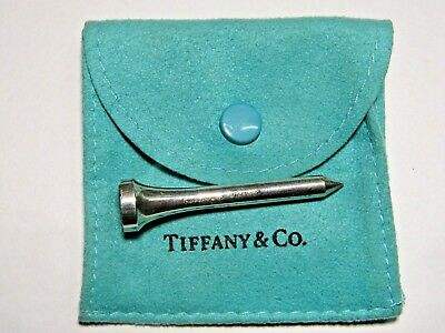 """Vintage Genuine Authentic  Tiffany & Co. Sterling Silver Golf Tee 1.78"""""""