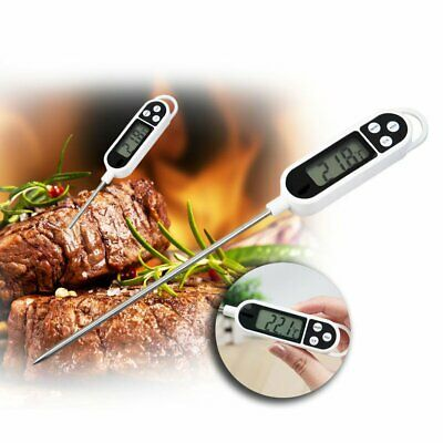 Digital Read Food Probe Cooking Meat Kitchen BBQ Thermometer Temperature WT