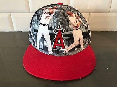 Angels Mike Trout MVP HAT SGA CAP Giveaway 2015 Excellent Pre-Owned  Condition 21ba74726f1a