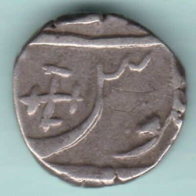Bharuch State Half Rupee Silver Ex Rare Coin
