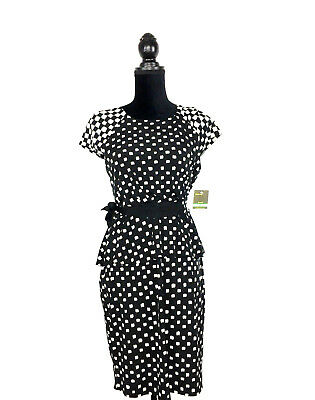 Nwt Socialite Black White Party Dress Nordstrom Rack Size Small